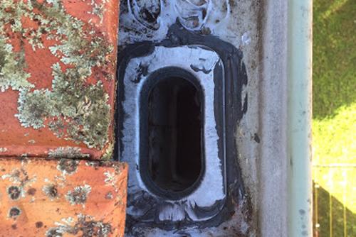 gutters leaking