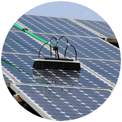 solar panel cleaning north shor